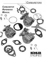 Kohler Carburetor Parts List