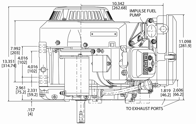 23 hp kawasaki engine parts diagram briggs   stratton engine 356447 3087 g1 18 hp 570cc horizontal  briggs   stratton engine 356447 3087 g1