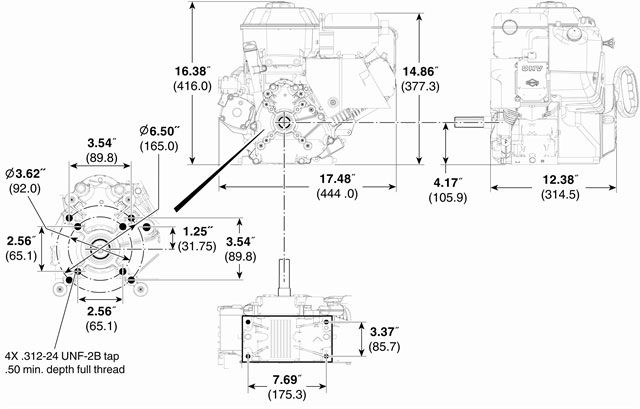 Briggs Stratton 21m3142470f2 Snow Blower Engine 342cc Rhkohlerenginepartsopeengines: 21 Hp Briggs And Stratton Engine Diagram At Gmaili.net