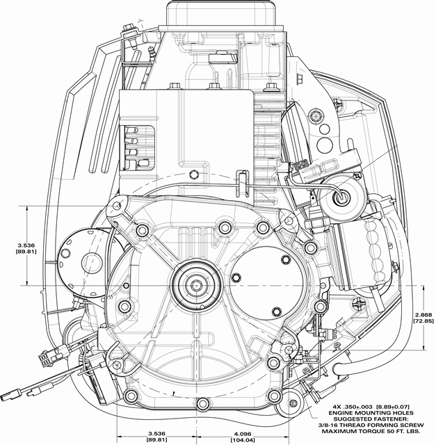 briggs and stratton engine schematics