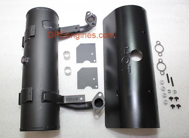 Kohler Part # 2478628S Starter Side Outlet Straight EFI Muffler Kit