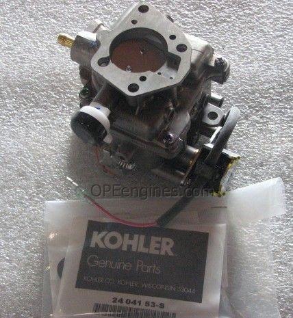 Kohler Part # 2485359S Keihin Carburetor Assembly With Gaskets