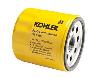 kohler part 5205002s oil filter. Black Bedroom Furniture Sets. Home Design Ideas