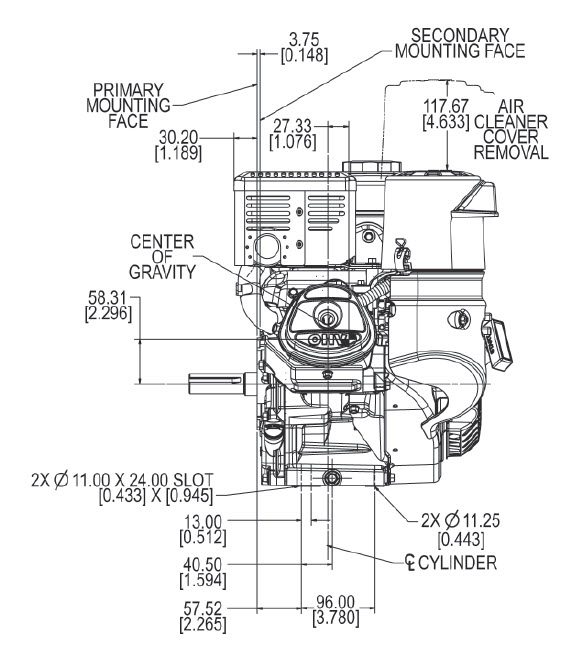 Kohler Engine Ch3953102 95 Hp Mand Pro 277cc Recoil 1 In Crank Rhkohlerenginepartsopeengines: Wiring Diagram Kohler Engine Ch23s At Gmaili.net