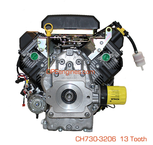 3206 cub cadet wiring diagram kohler engine ch730 3003 23 5 hp command pro 725cc spline 13 tooth  kohler engine ch730 3003 23 5 hp