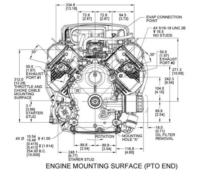 Kohler Engine ZT7403024 Confidant 25 hp 747cc Shivvers Kohler – Kohler K181s Engine Wiring Diagrams