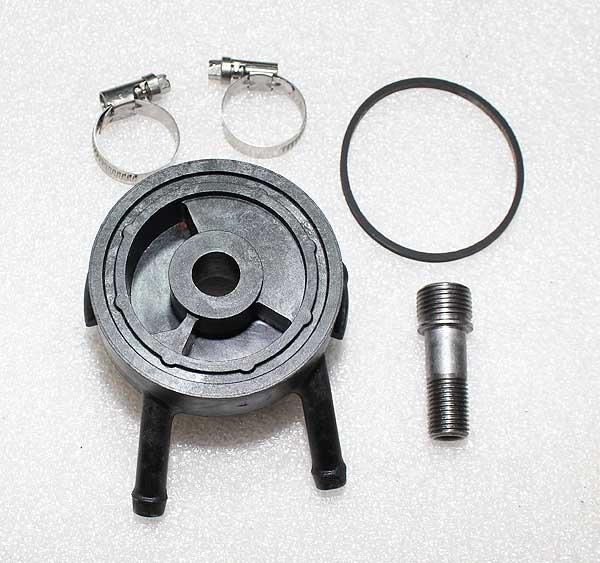 Kohler Part # 2402975S Oil Filter Diverter Adapter With Drip Lip