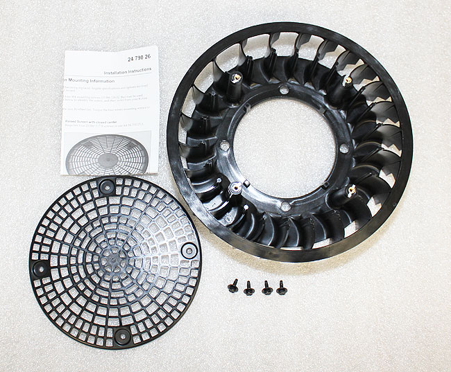 Kohler Part # 24755253S Flywheel Fan Kit