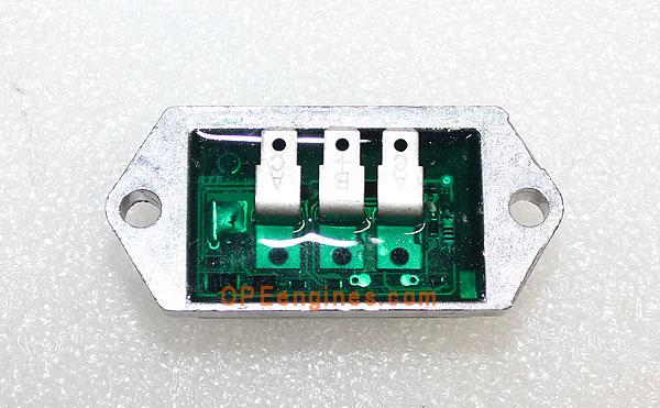 kohler regulator wiring diagram kohler part 2540335s regulator rectifier 12 15 amp half wave  regulator rectifier