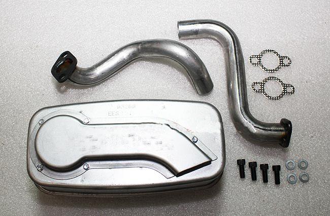 Kohler Part # 3278601S Exhaust Muffler Kit For SV Twin