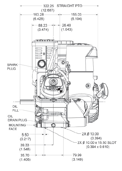 kohler k181 wiring diagram kohler engine ch270 3152 7 hp command pro 208cc 3 4 in crankshaft  kohler engine ch270 3152 7 hp command
