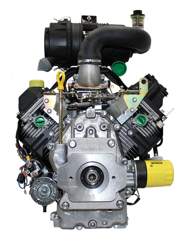 kohler engine ch750 0025 27 hp command pro 747cc vermeer skid loader rh kohler engine parts opeengines com Kohler Command Pro 13 Parts Kohler Command 27 Engine Diagram