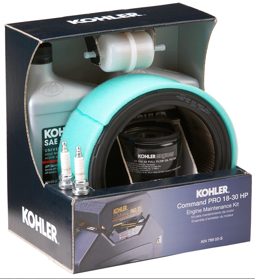 Kohler Part # 2478902S Engine Maintenance Kit CV/CH Pro Twin ...