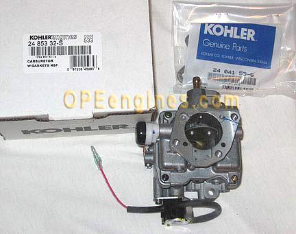 kohler part 2485332s carburetor w gaskets ksf 24 853 32 s kohler part 2485332s carburetor w gaskets ksf 24 853 32 s
