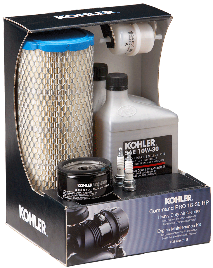 Kohler Part # 2578901S Engine Maintenance Kit HDAC CV/CH Pro Twin