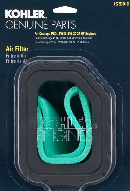 Kohler Part # 3288306S1 Air Filter With Pre-Cleaner Kit - OPEengines.com