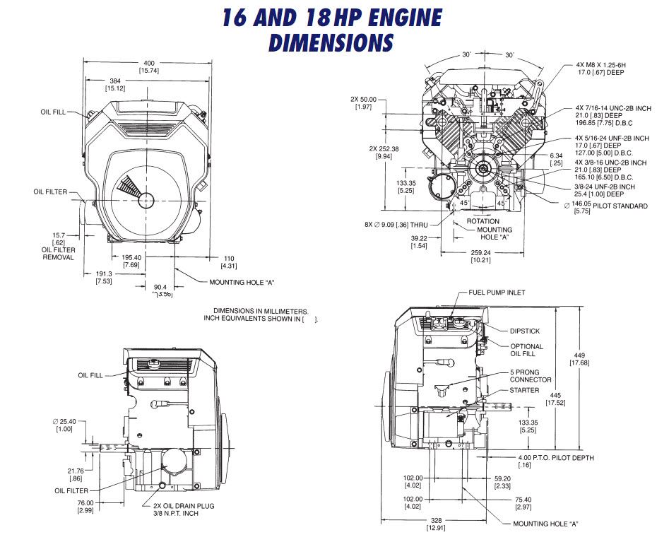 OHC16 OHC18 TH16 TH18 DRAWING Kohler Engines and Parts Store – Kohler Cv490s Engine Diagram