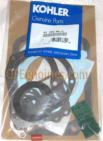 Kohler Part # 4175506S Overhaul Gasket Set W/ Seals K141 K161 K181