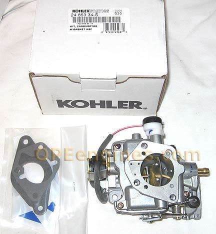 Kohler Part # 2485334S Carburetor embly Ksf Keihin on