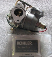 Kohler Part # 2485390S Carburetor Assembly W/Gaskets