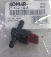 Kohler Part # 2546214S Fuel Shut-Off Valve