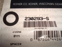Kohler Part # 230293S Spacer