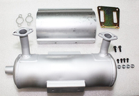 Kohler Part # 2478612S Muffler Kit Starter Side Straight